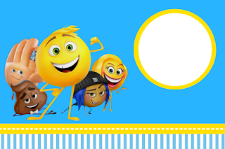 Emoji Free Printable Invitations, Labels or Cards.
