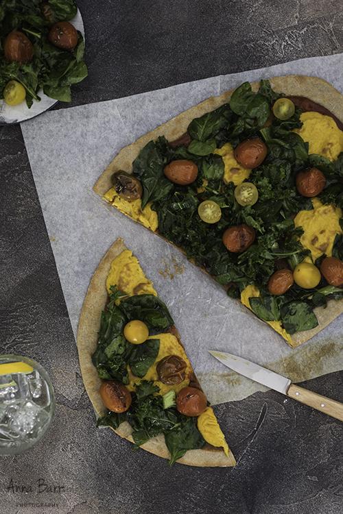 Vegan-pizza-kale-tomatoes-cheddar4