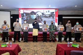 Wali Kota Medan Tinjau Pelaksanaan  Vaksinasi Alumni Akpol Angkatan 95