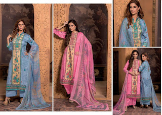 Rivaa Simran Glace Cotton Salwar Kameez Collection