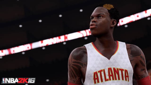 NBA 2K16 Screenshot Dennis Schröder
