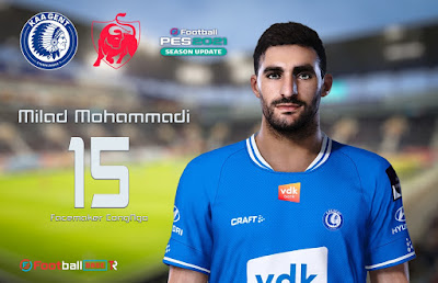 PES 2021 Faces Milad Mohammadi by CongNgo