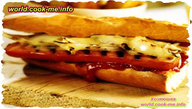 Хот-дог с сыром «Мужская еда»