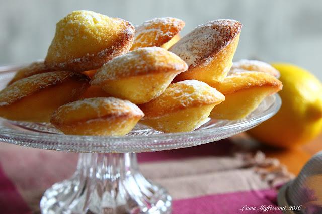 ricetta madeleines facile veloce