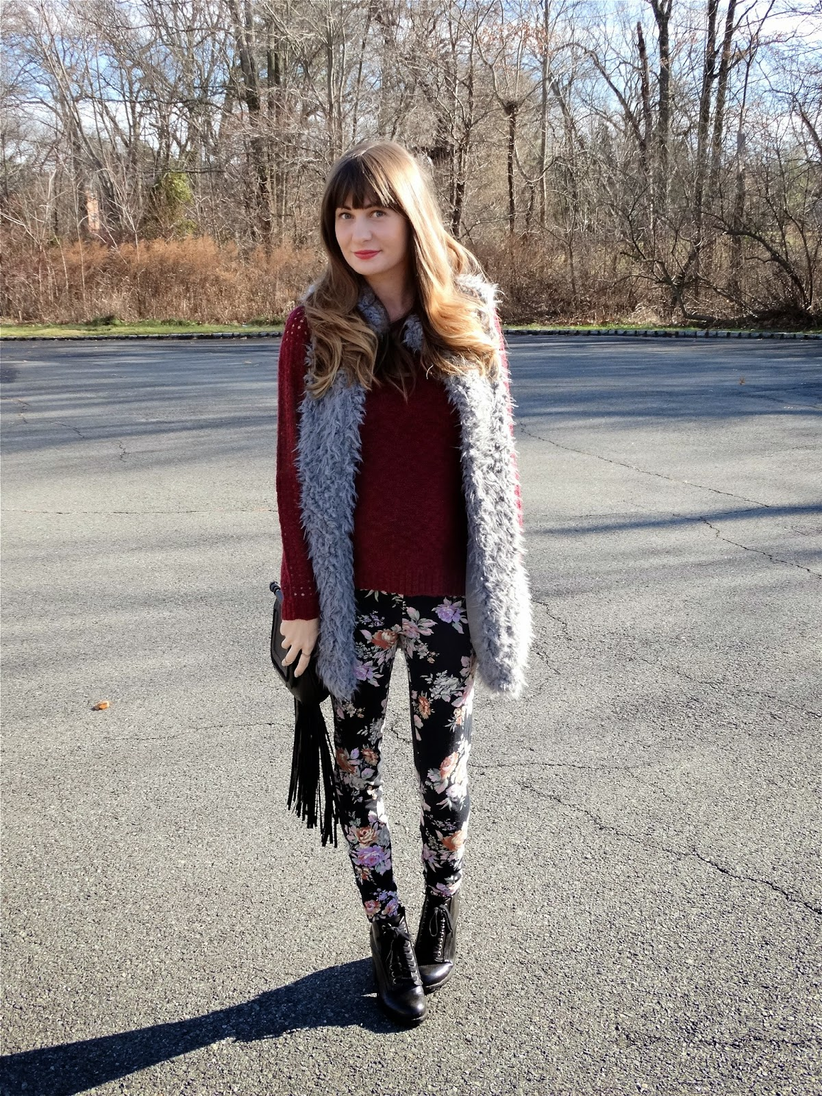 Faux fur vests Forever 21 | House Of Jeffers fashion blog | www.houseofjeffers.com