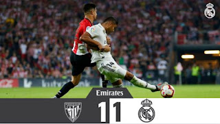 Athletic Bilbao vs Real Madrid 1-1 Highlights