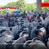 VIDEO: Caravan crashes through National Guard blockade in Mexico