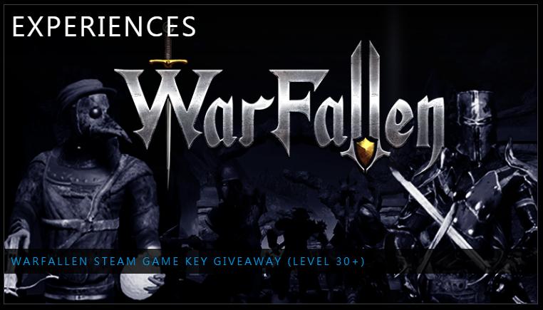 免費序號領取:WarFallen - 免費Steam 遊戲