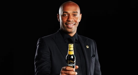 Guinness Unveil Jollof-Eating 'Igwe' Thierry Henry