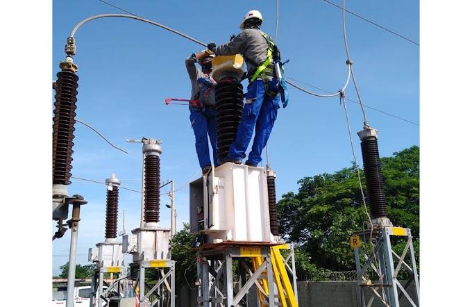 Air-e realiza adecuaciones en circuitos del Centro de Santa Marta este domingo 24 de enero