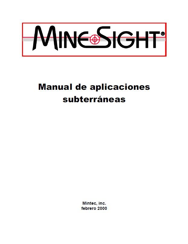 Ingeniería de Minas (Libros, Manuales, Programas y Otros)