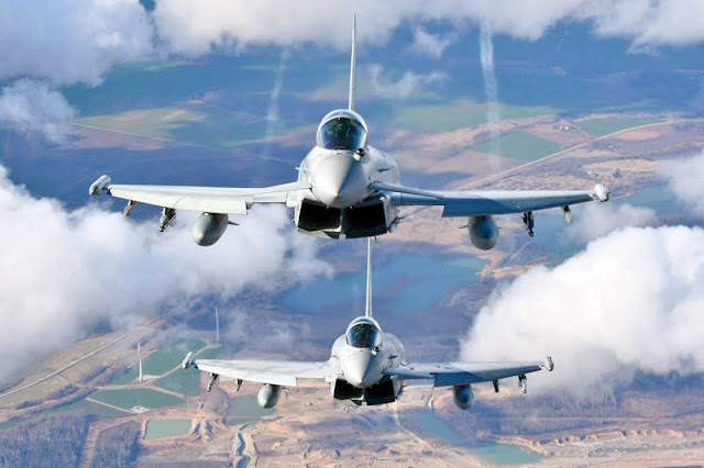 Italian Eurofighter Typhoon Kuwait ISR