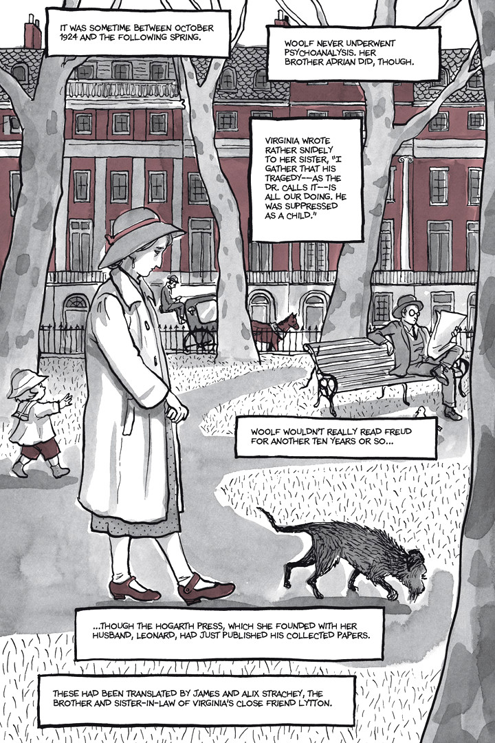 Page 24, Chapter 1: Ordinary Devoted Mother from Alison Bechdel's graphic novel Are You My Mother