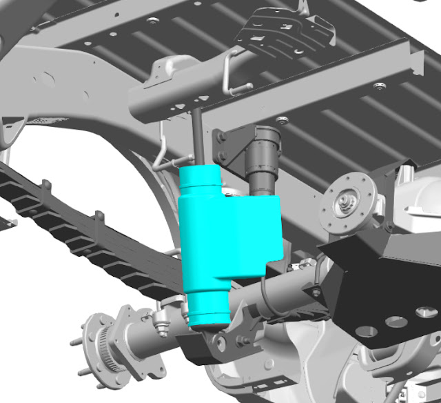 3D-Printed Parts for Chevrolet Silverado off-road race truck