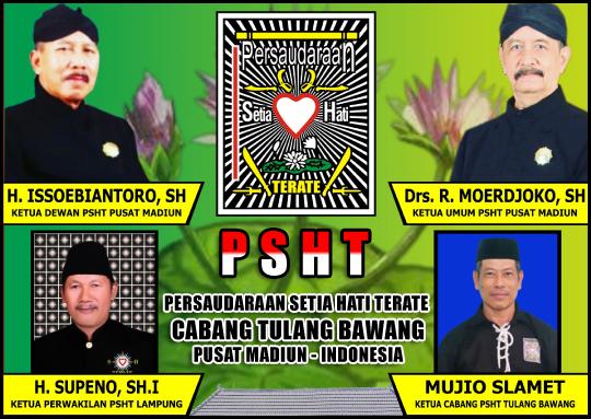 Mujio Slamet (Ketua Cabang PSHT Tulang Bawang)