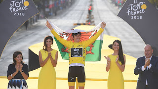 CICLISMO (Tour de Francia 2018) - Geraint Thomas sorprendente nuevo ganador del Tour