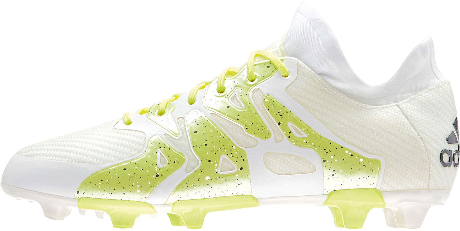Adidas X 15.1 White / Frozen Yellow / Silver Metallic