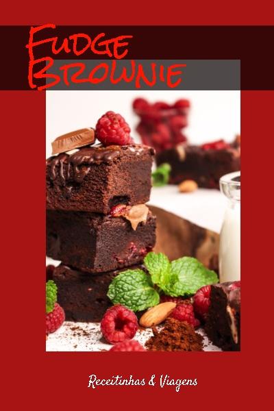 Receita de Fudge Brownie bem humido