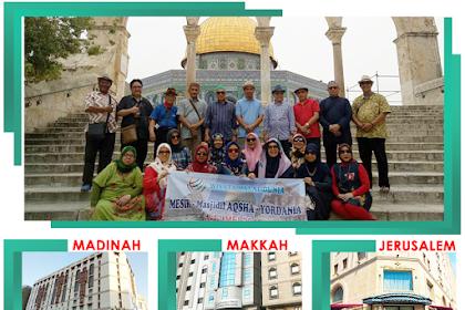 Paket Umroh Syawal Plus Aqsa Petra 15 Hari