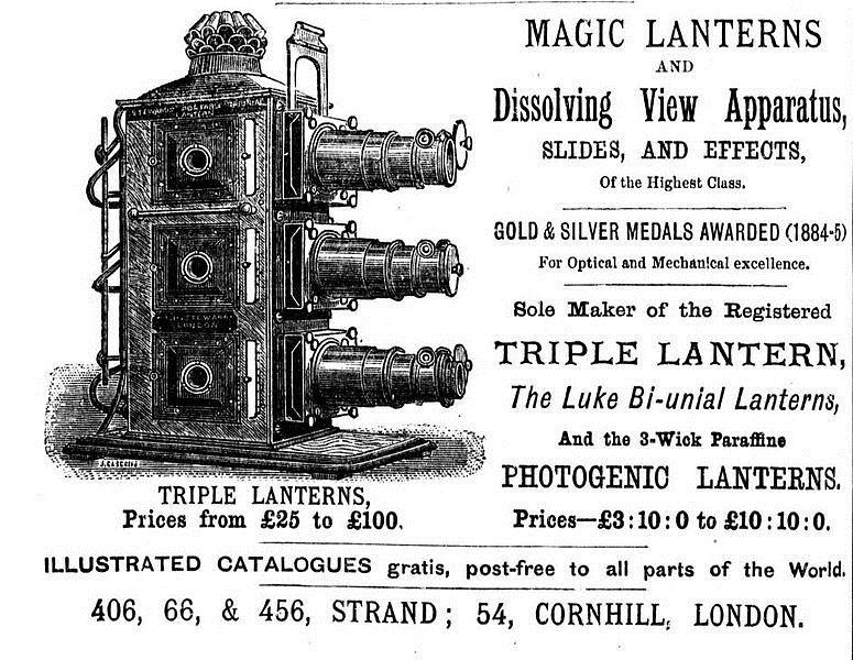 Photo Archives WEST Spring 13: Lantern Slides