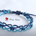3 Fast and Easy Open Work Macrame Bracelet Tutorials By MuuMuu