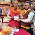 श्रीराम जन्मभूमि मंदिर निर्माण  निधि समर्पण अभियान का साहेबगंज में शुभारंभ