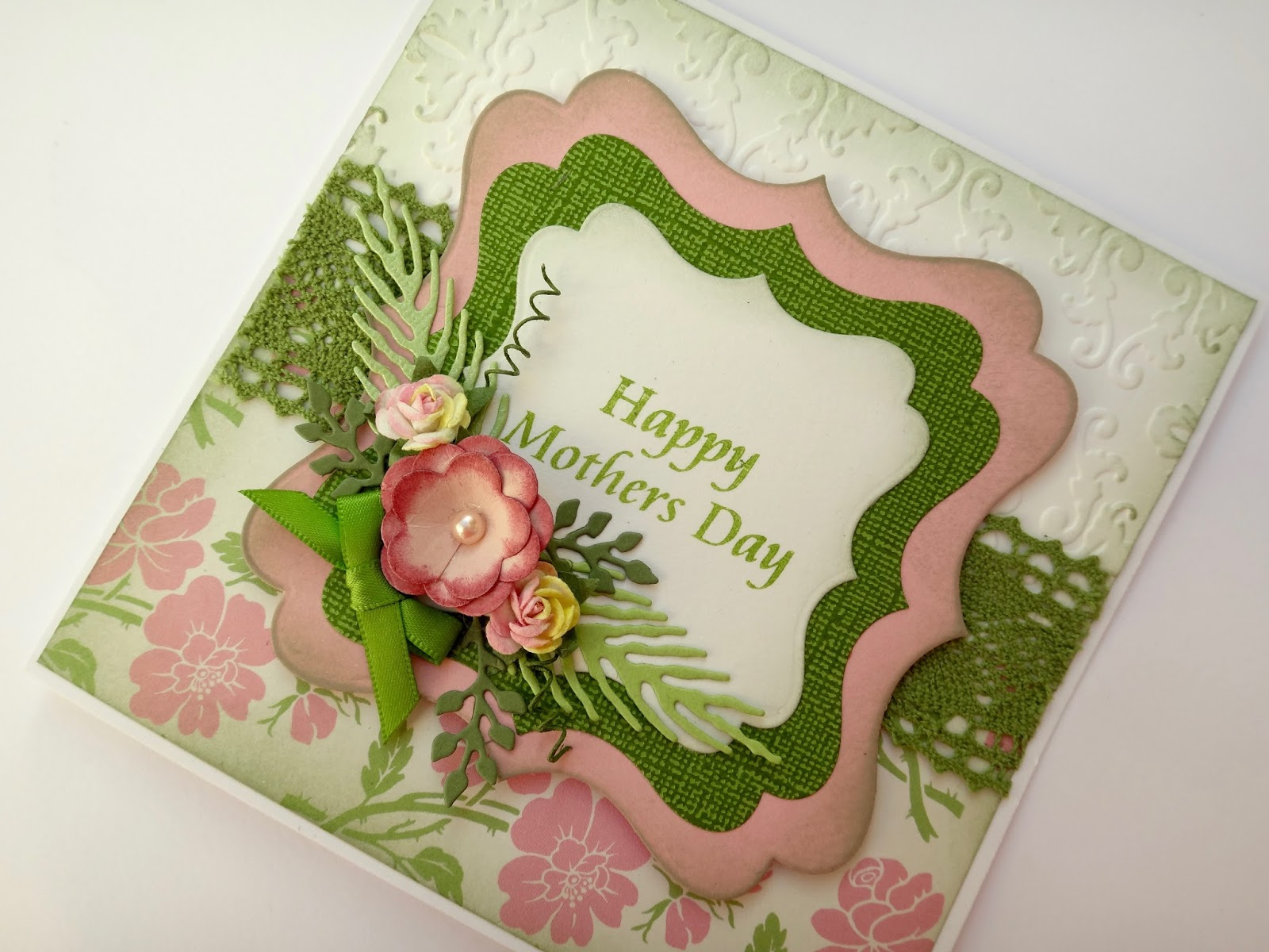 Wild warehouse craft and supplies mothers day card with for Mother s day craft kits