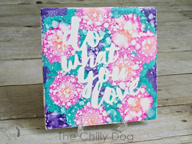 "October 2015 Giveaway: You'll always remember to ""Do What You Love"" with this handcrafted tile"