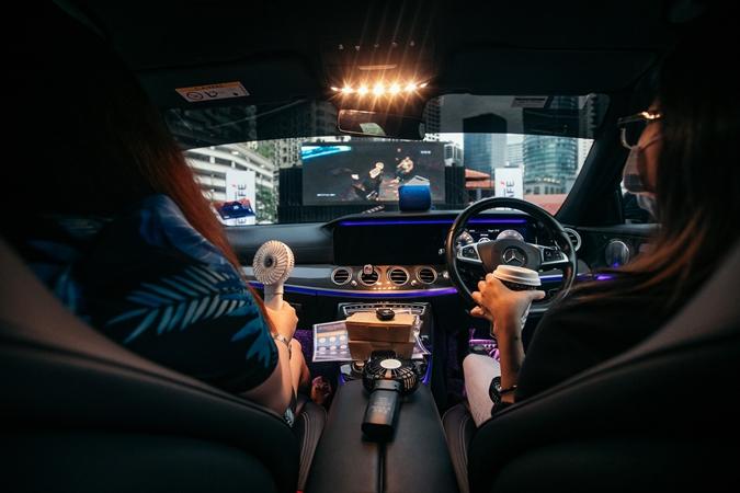malaysia drive through cinema