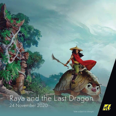 Filem Keluar Panggung Wayang 2020 | Raya and The Last Dragon (2020)