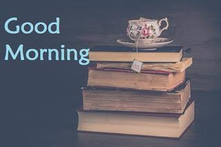 good morning tea cup wallpaper