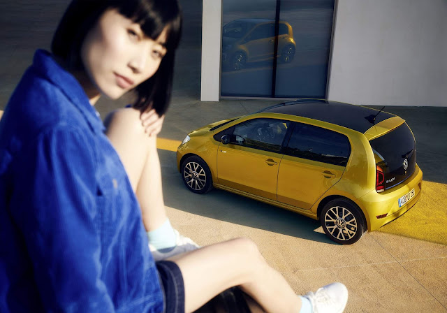 Volkswagen e-Up tem autonomia ampliada para 260 km