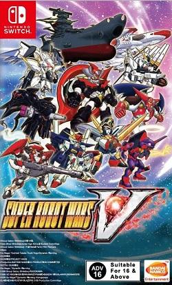 Super Robot Wars V Switch NSP XCI