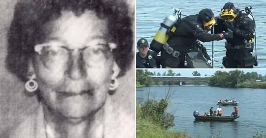 Remains of woman, 63, who disappeared in 1978 are discovered in car submerged in river