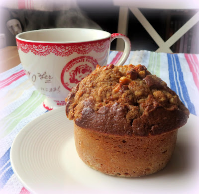 Maple Walnut Muffin for Dad