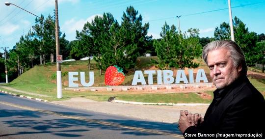 www.seuguara.com.br/Steve Bannon/Atibaia/Renato Terra/Folha/