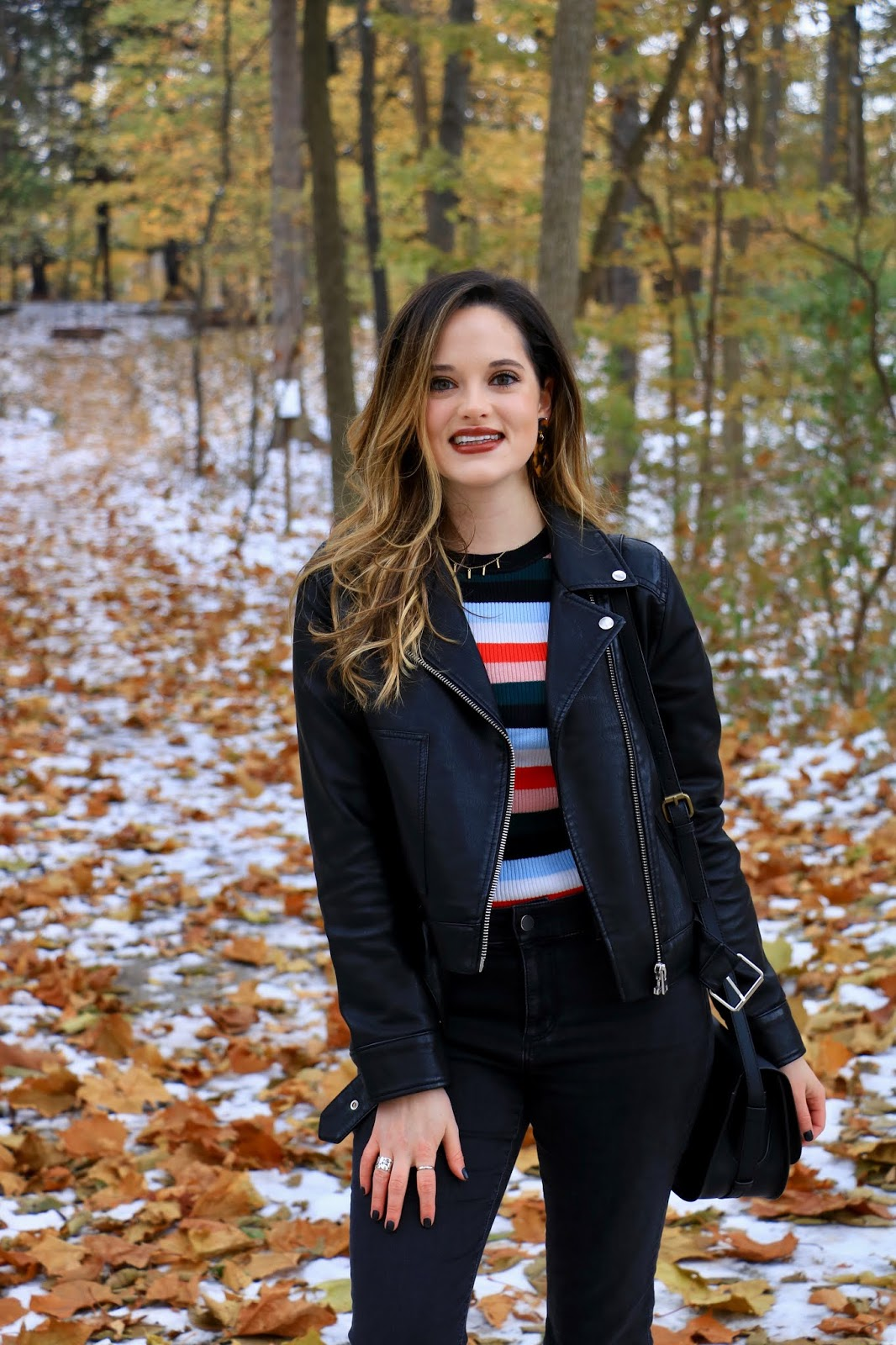 Nyc fashion blogger Kathleen Harper wearing her cute winter outfit idea.