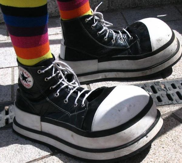 Clown Shoe Size