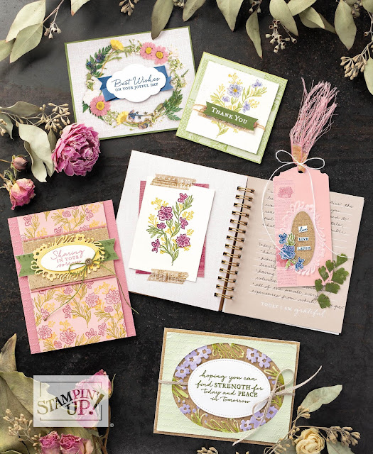Nigezza Creates Pressed Petal Suite By Stampin' Up!