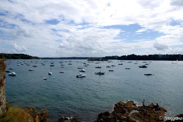 Baia di Saint Servan vicino a Saint Malo