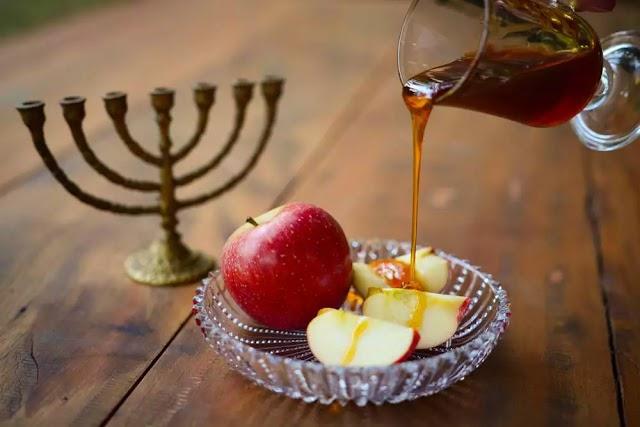 Judeus  festejam o Hosh Hashaná