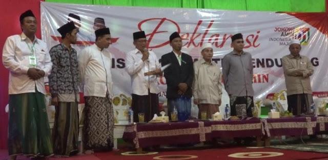 Kiai dan Santri Jateng dan Jatim Wajib Pilih Jokowi-Amin