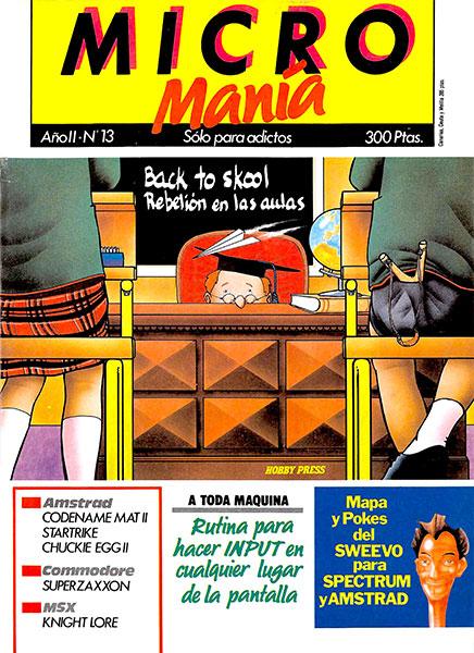 Revista Micromanía Número 13