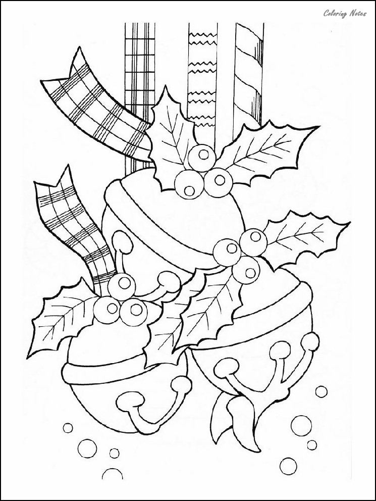 30 Best Christmas Ornaments Coloring Pages Free Printable