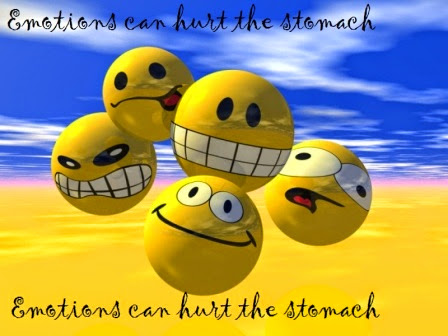 Emotions can hurt the stomach