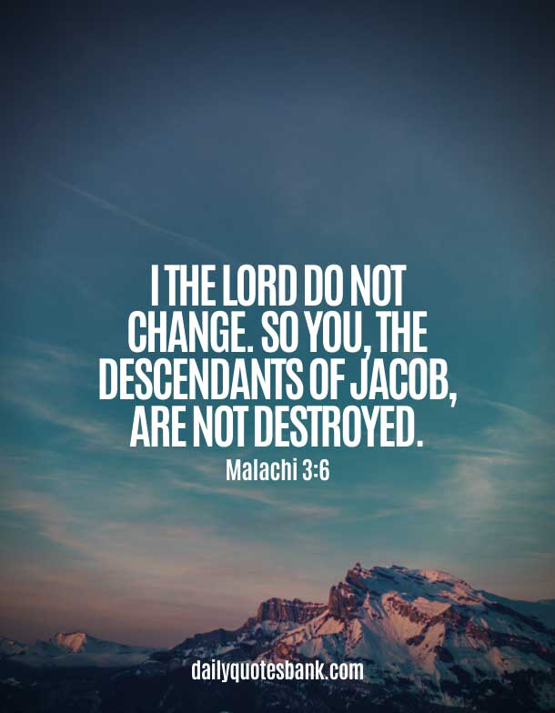Bible Quotes About Changing Yourself