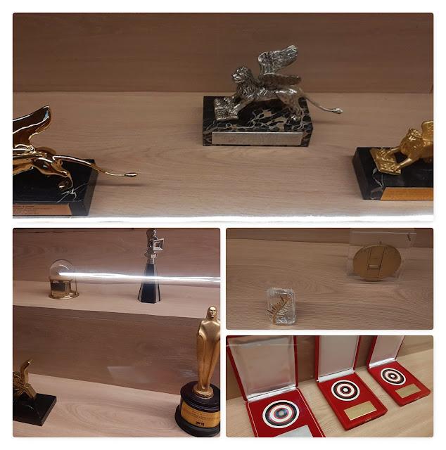 troféus e prémios de Manoel de Oliveira