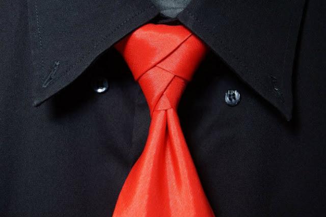 cara memakai dasi unik eldredge