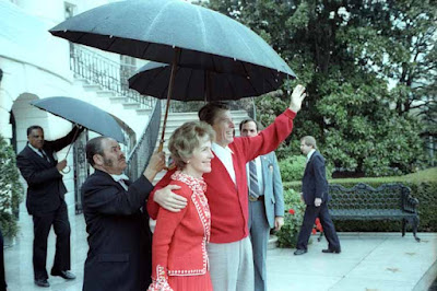 Reagan returns to the White House, 1981