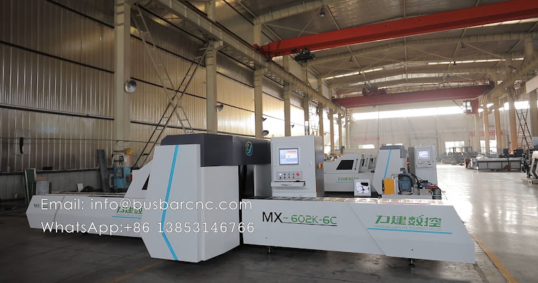 hydraulic cnc copper busbar cutting punching machine